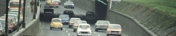 Viaducto en los setentas